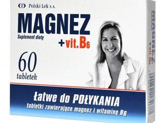 Magnez + Vit.B6, tabletki, 60 szt. / (Polski Lek)