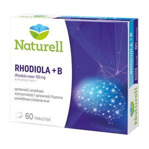 Naturell Rhodiola + B, tabletki, 60 szt. / (Naturell)