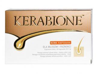 Kerabione, dla włosów, paznokci, skóry, kapsułki, 60 szt. / (Valentis)
