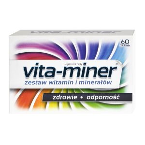 Vita-miner, z luteiną, tabletki, 60 szt. / (Aflofarm)