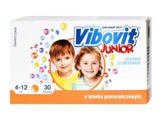 Vibovit Junior, 2 g, proszek, smak pomarańczowy, 30 saszetek / (Teva)