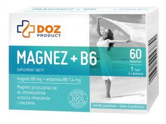 Magnez+B6, tabletki powlekane, 60 szt. / (Doz)