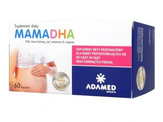 Mama DHA, kapsułki, 60 szt. / (Adamed)