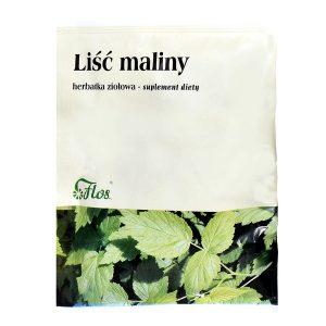 Liść maliny, herbatka ziołowa, 50 g / (Flos)