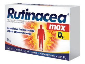 Rutinacea max D3, tabletki, 60 szt. / (Aflofarm)
