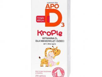 ApoD3, 400 j.m., krople, 10 ml (200 aplikacji) / (Apotex)