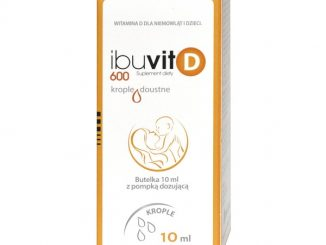 Ibuvit D 600, krople doustne, 10 ml / (Medana)