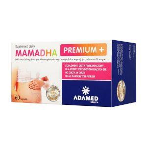 MamaDHA Premium+, kapsułki, 60 szt. / (Adamed)
