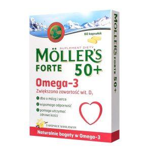 Mollers Forte 50+, kapsułki, 60 szt. / (Axellus)