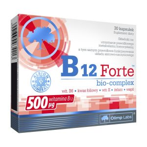 Olimp B12 Forte Bio-Complex, kapsułki, 30 szt. / (Olimp Laboratories)