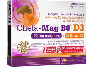 Olimp Chela-Mag B6+D3, kapsułki, 30 szt. / (Olimp Laboratories)