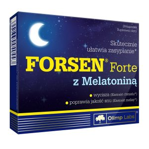 Olimp Forsen Forte z melatoniną, kapsułki, 30 szt. / (Olimp Laboratories)