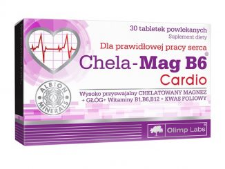 Olimp Chela-Mag B6 Cardio, tabletki powlekane, 30 szt. / (Olimp Laboratories)
