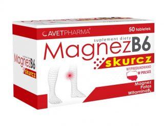 Magnez B6 Skurcz, tabletki powlekane, 50 szt. / (Avet Pharma)