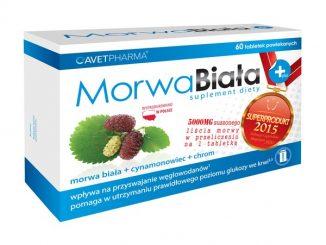Morwa Biała Plus, tabletki powlekane, 60 szt. / (Avet Pharma)