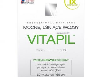 Vitapil, biotyna + bambus, tabletki powlekane, 60 szt. / (Nutropharma)
