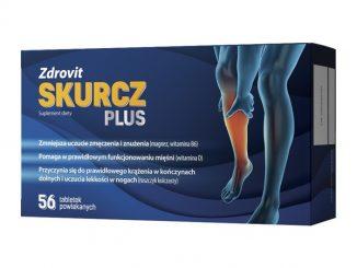 Zdrovit Skurcz Plus, tabletki powlekane, 56 szt. / (Natur Produkt Pharma)