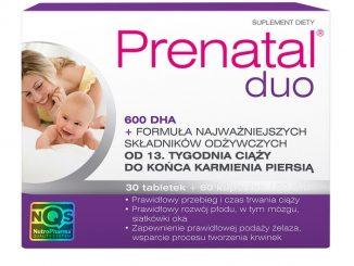 Prenatal Duo, 600 DHA, tabletki, 30 szt. + kapsułki, 60 szt. / (Nutropharma)