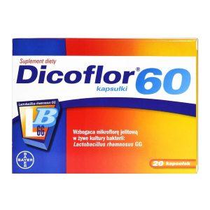 Dicoflor 60, kapsułki, 20 szt. / (Dicofarm)