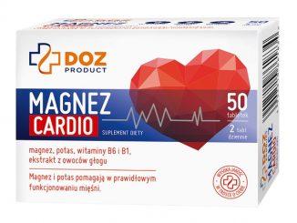 Magnez Cardio, tabletki powlekane, 50 szt. / (Doz)