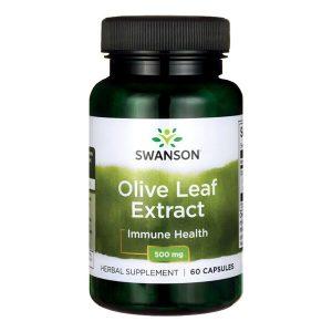 Swanson Olive Leaf Extract, 500 mg, kapsułki, 60 szt. / (Swanson)