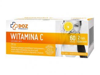 Witamina C, tabletki powlekane, 60 szt. / (Doz)