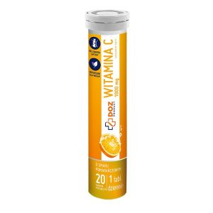 Witamina C 1000 mg, tabletki musujące., 20 szt. / (Doz)