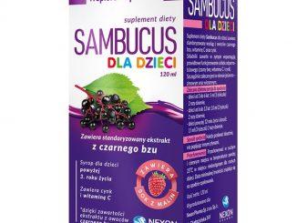 Sambucus dla dzieci, syrop, 120 ml / (Nexon Pharma Sp. z o.o.)