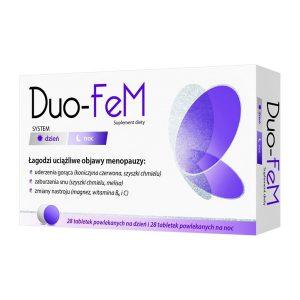 Duo-Fem, tabletki na dzień, 28 szt + tabletki na noc, 28 szt. / (Natur Produkt Pharma)