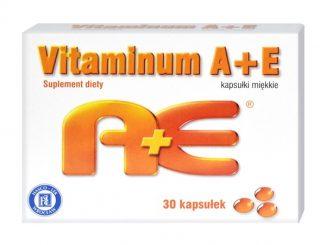 Vitaminum A + E, kapsułki miękkie, 30 szt. / (Hasco-lek)