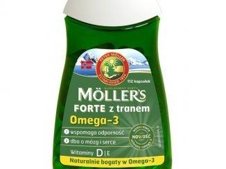 Mollers Forte z tranem, kapsułki, 112 szt. / (Axellus)