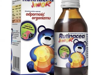 Rutinacea Junior, syrop, naturalne soki owocowe, 100 ml / (Aflofarm)