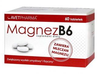 Magnez B6, tabletki, 60 szt / (Avet Pharma)