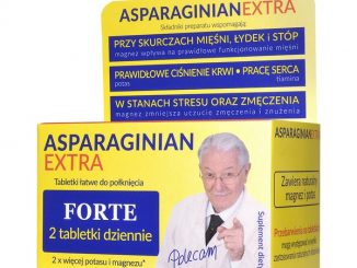 Asparaginian Extra Uniphar Magnez Potas, tabletki, 50 szt. / (Uniphar)