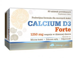 Olimp Calcium D3 Forte, tabletki powlekane, 60 szt. / (Olimp Laboratories)
