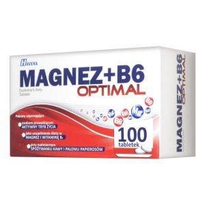 Magnez + B6 Optimal, tabletki, 100 szt. / (Havena)