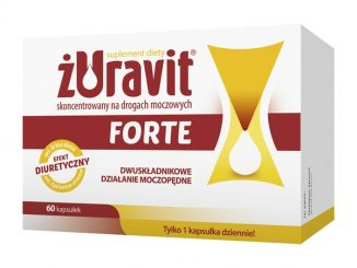 Żuravit Forte, kapsułki twarde, 60 szt. / (Herbapol Lublin)