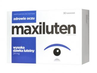Maxiluten, tabletki, 30 szt. / (Aflofarm)