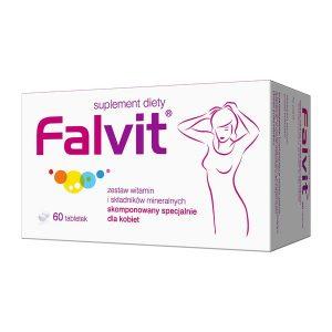 Falvit, tabletki drażowane, 60 szt. / (Jelfa)