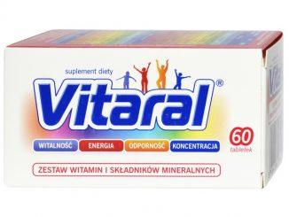 Vitaral, tabletki drażowane, 60 szt. / (Jelfa)