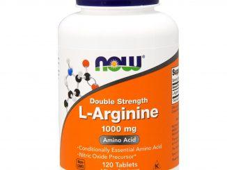 L-Arginine, 1,000 mg, 120 Tablets (Now Foods)