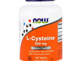 L-Cysteine, 500 mg, 100 Tablets (Now Foods)