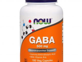 GABA, 500 mg, 100 Veg Capsules (Now Foods)