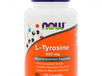 L-Tyrosine, 500 mg, 120 Capsules (Now Foods)