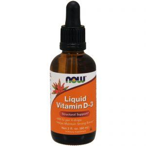 Liquid Vitamin D-3, 2 fl oz (60 ml) (Now Foods)