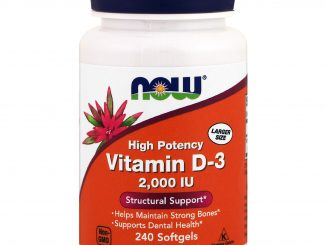 Vitamin D-3 High Potency, 2,000 IU, 240 Softgels (Now Foods)