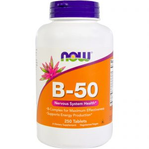 B-50, 250 Tablets (Now Foods)