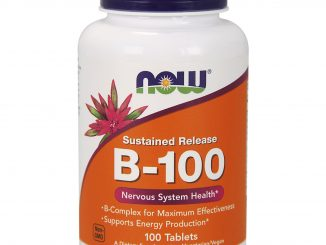 B-100, Sustained Release, 100 Tablets (Now Foods)