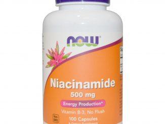 Niacinamide, 500 mg, 100 Capsules (Now Foods)