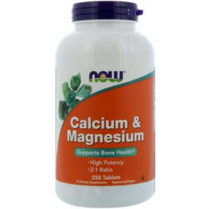 Calcium & Magnesium, 250 Tablets (Now Foods)